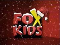 Fox Kids Christmas logo from 1998