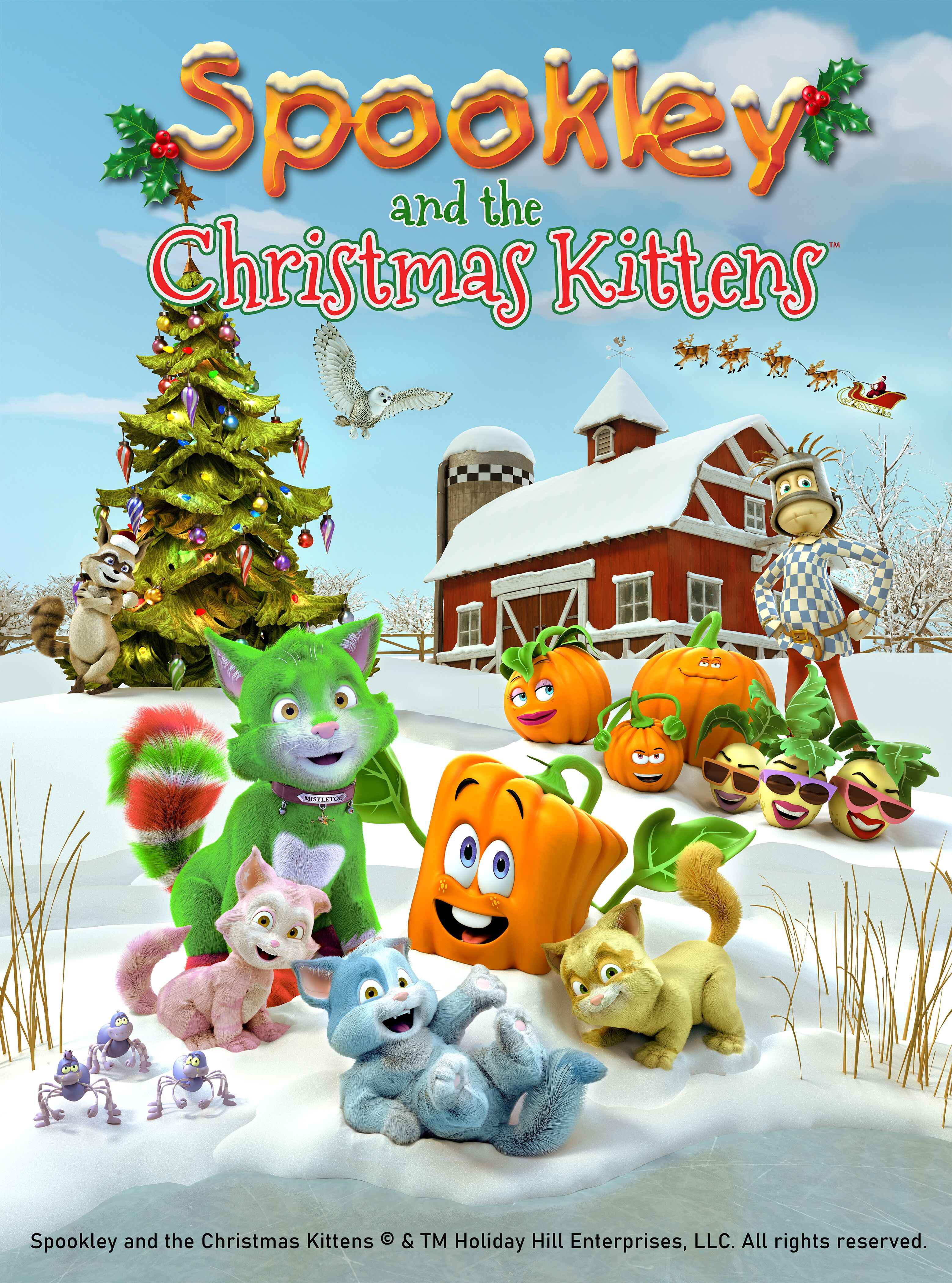 2020 Wiki Christmas Schedue Spookley and the Christmas Kittens | Christmas Specials Wiki | Fandom
