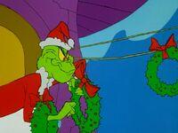 Grinch taking wreaths