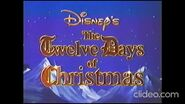 Opening and Closing to Disney's Sing-Along Songs- The Twelve Days of Christmas 1993 VHS