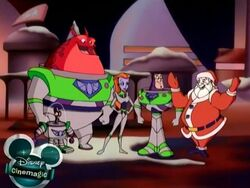 Buzz and the gang with Santa.jpg