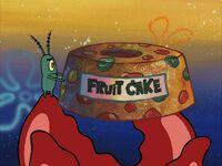 Plankton hates fruitcake
