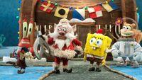Santa looks at ToyBob's key
