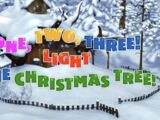 One, Two, Three! Light the Christmas Tree!