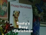 Sooty's Busy Christmas Title Card