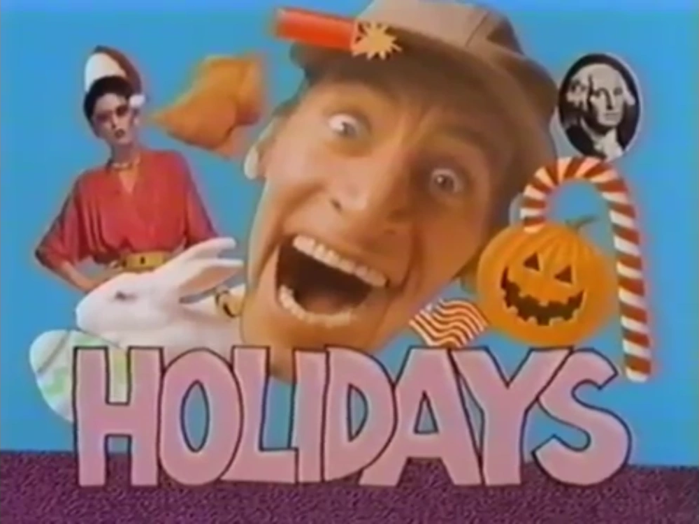 Hey Vern, It's Holidays!