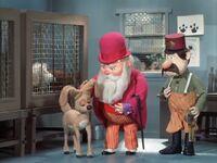 Santa bails out Vixen