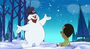 TLoFtSm- Frosty comes to life in front of Walter Wader