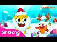 Giving Gifts - Baby Shark's Big Fishmas - Baby Shark Music Video - Christmas Sharks - Nickelodeon