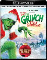 How The Grinch Stole Christmas 4K Ultra HD Blu-Ray