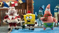SpongeBob tries to reason with Santa