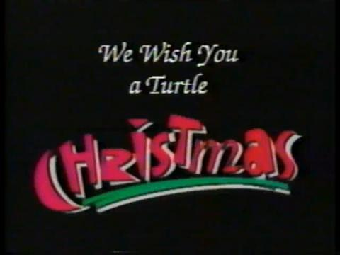 We Wish You a Turtle Christmas
