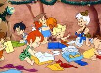 Um Natal Flintstone 1977 (A Flintstone Christmas) hanna-barbera (7)