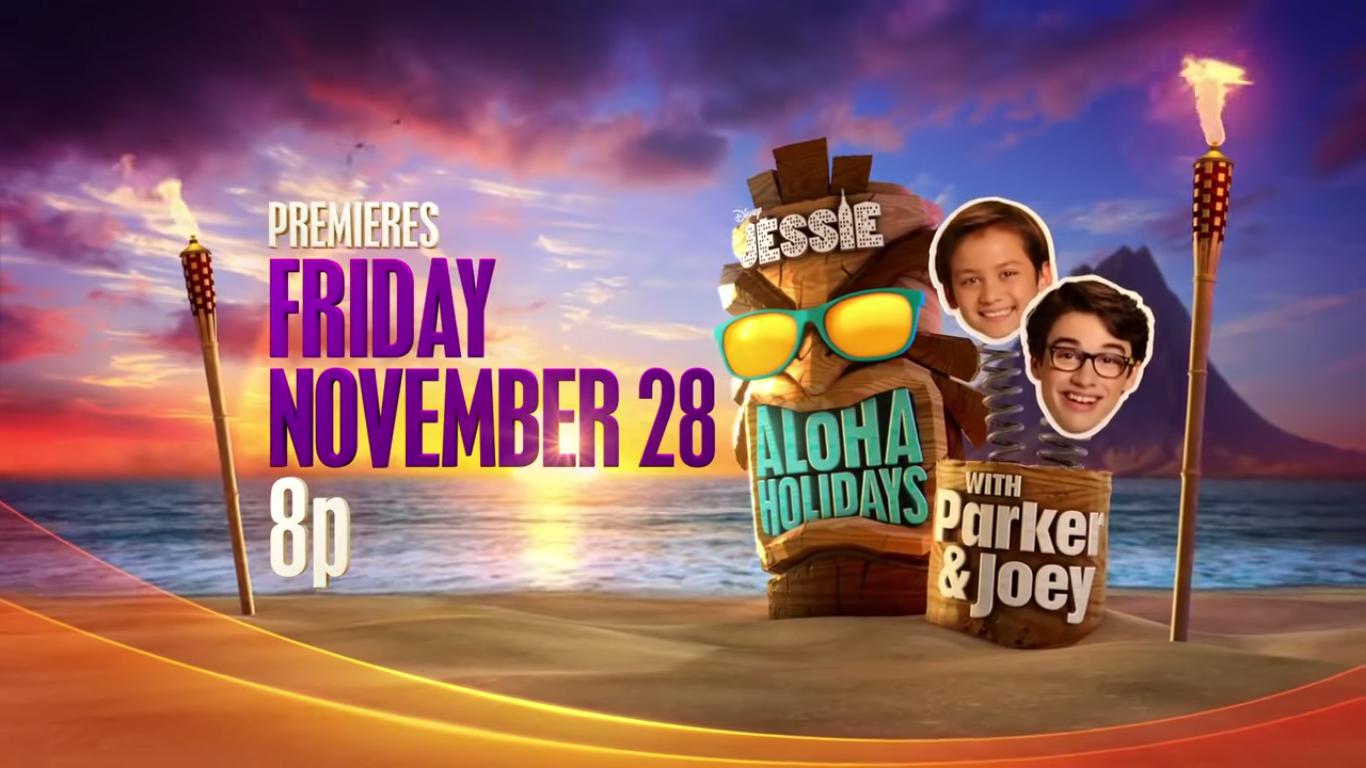 Jessie's Aloha Holidays with Parker & Joey