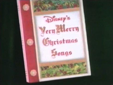 Disney's Very Merry Christmas Songs