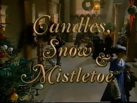 Candles, Snow & Mistletoe