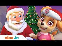PAW Patrol Pups Save Christmas & Meet Santa! 🎄🎅 Nick Jr.