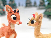 Clarice prefers Rudolph's real nose