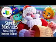 Super Monsters- Santa's Super Monster Helpers Trailer 🎅 Netflix Jr