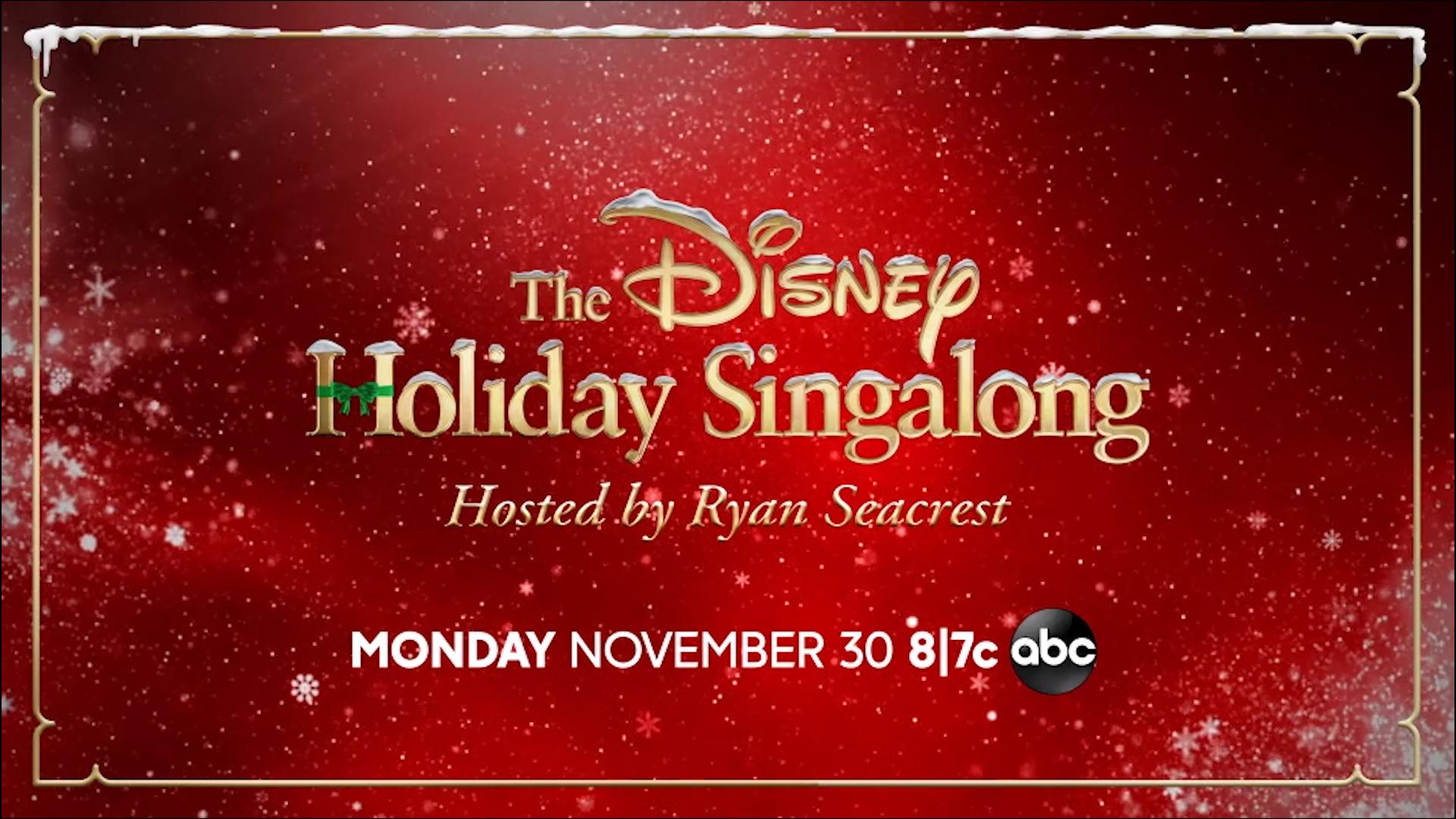 The Disney Holiday Sing-Along