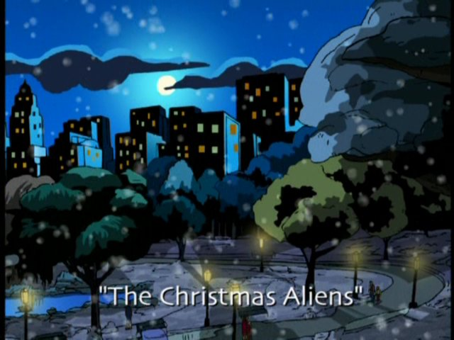 The Christmas Aliens