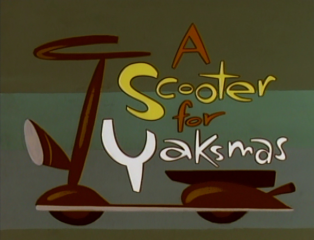 A Scooter for Yaksmas
