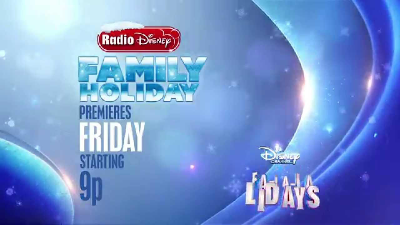 Disney Channel Fa-La-La-Lidays Celebrates a Radio Disney Family Holiday