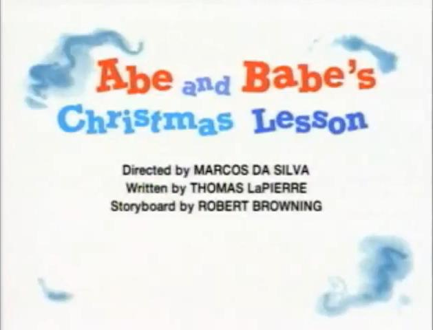 Abe and Babe's Christmas Lesson