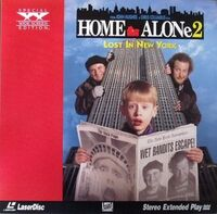 HomeAlone2 Laserdisc