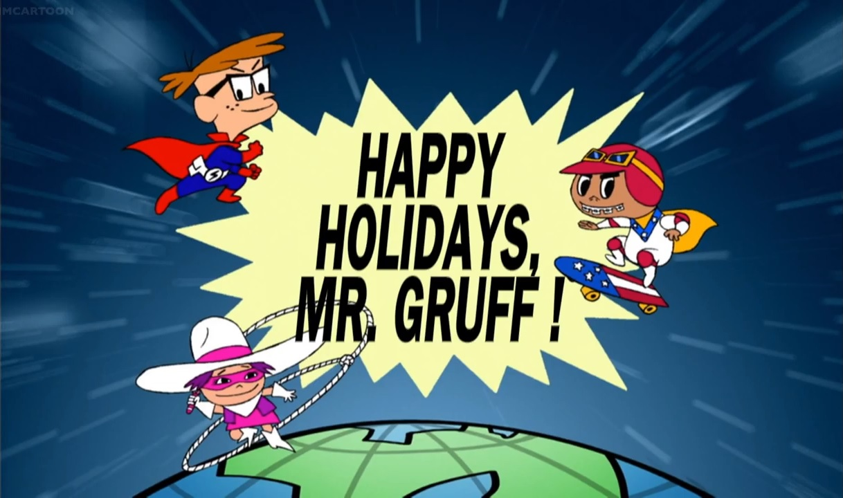 Happy Holidays, Mr. Gruff!