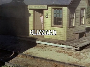 Blizzard (Little House on the Prairie)