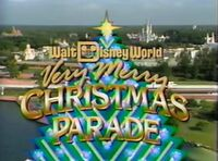 WDW Christmas Parade 1989