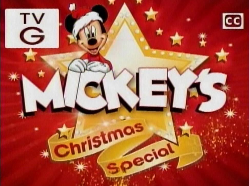 Mickey's Christmas Special