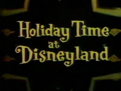 Holiday Time at Disneyland