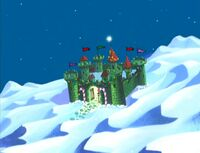 Santa's village in Johnny Bravo