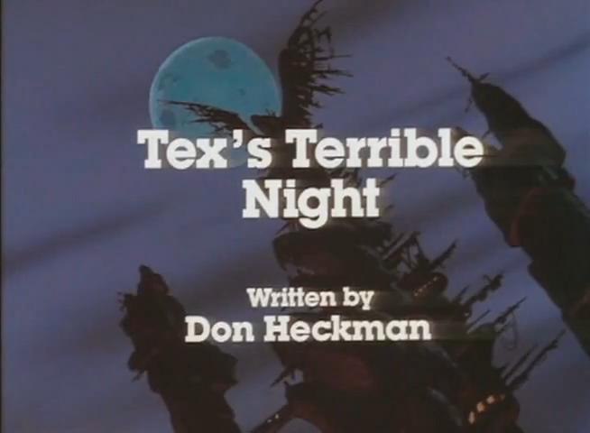 Tex's Terrible Night