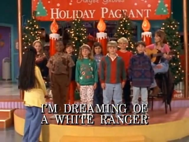 I'm Dreaming of a White Ranger