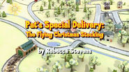 Pat's Special Delivery: The Flying Christmas Stocking