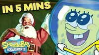 "SpongeBob ""Christmas Who?"" Holiday Special 🎅 in 5 Minutes!"