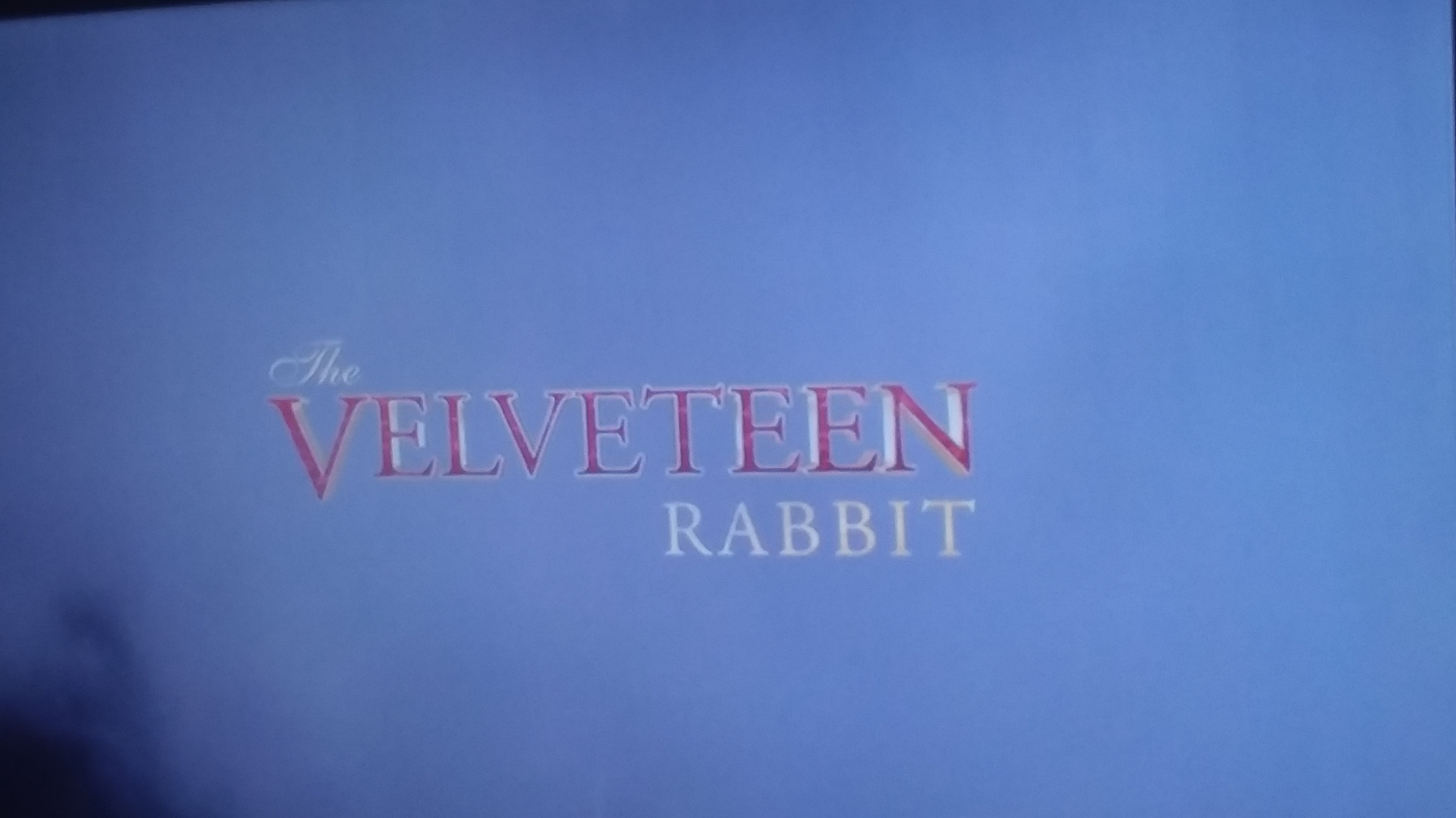 The Velveteen Rabbit (2008)