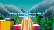 Holidays in Boxwood Terrace part 2