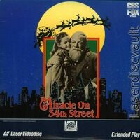 MiracleOn34thStreet1947 Laserdisc 1987