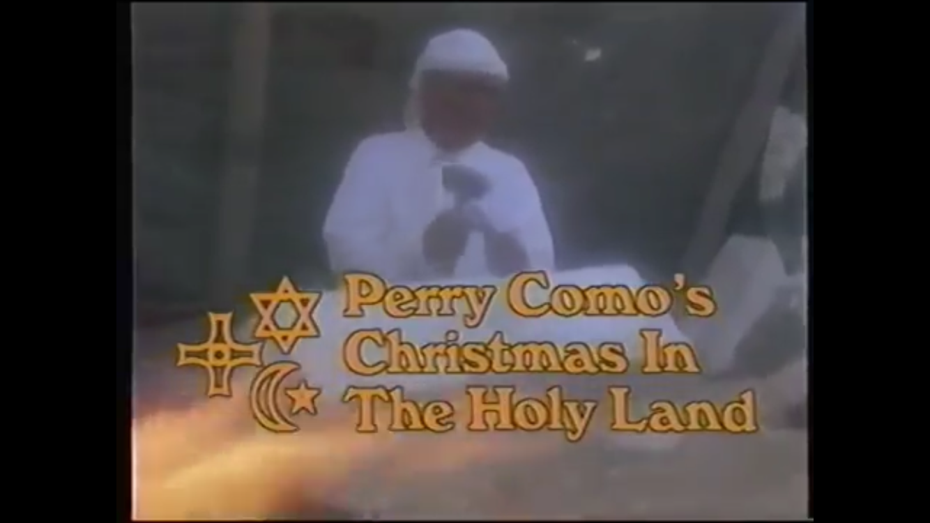 Perry Como's Christmas in the Holy Land