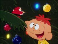 Santa makes Jeremy his assistant