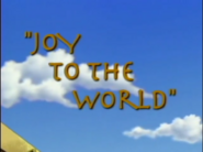 Joy to the World (Bugtime Adventures)