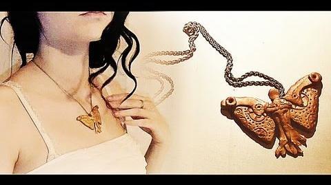 ► DIY Clockwork Angel Necklace Tutorial The Infernal Devices