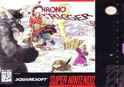 North American box art for Chrono Trigger