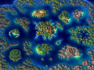 El Nido Map