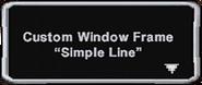 SimpleLineFrame