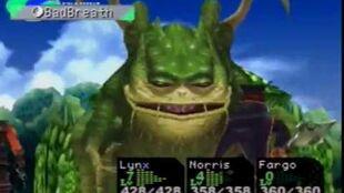 Chrono Cross - Green Dragon